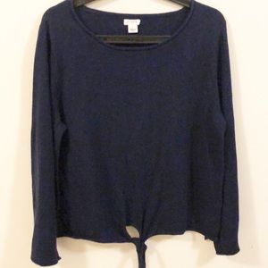 ❤️ J.Crew Navy blue Sweater